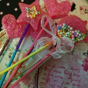 Sprinkle Sprinkle Resin Candy Wand Charms
